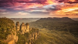 Discover the Blue Mountains - Katoomba Three Sisters
