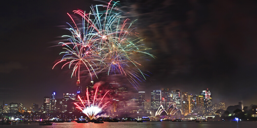 Sydney's Famous New Years Eve Celebrations