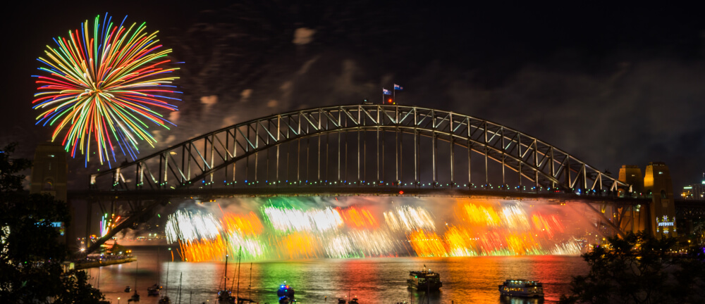 Sydney Private Tours Sydney's Famous New Years Eve fireworks