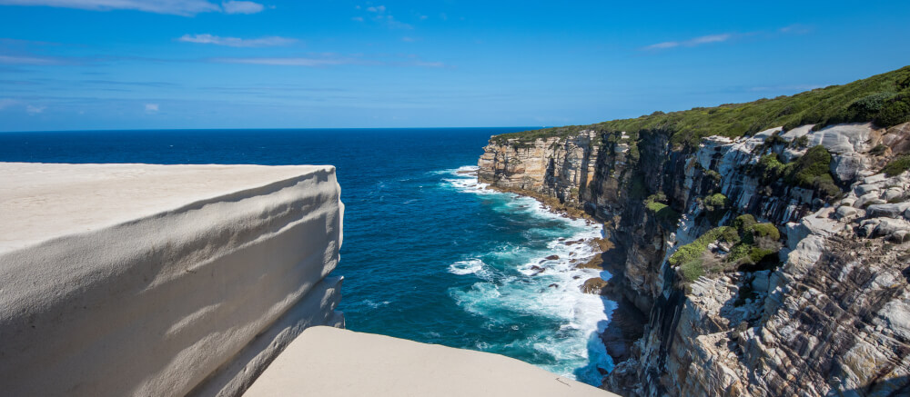 Top day trips from Sydney Wedding Cake Rock Royal National Park